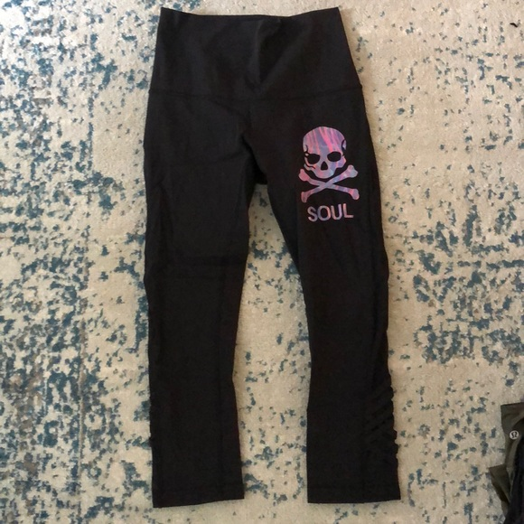 lululemon athletica Pants - Lululemon luxtreme Soulcycle leggings size 6